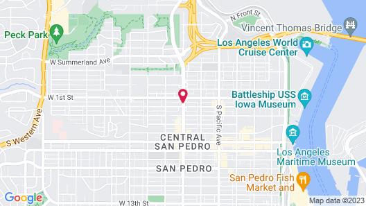 Best Western Plus San Pedro Hotel & Suites Map
