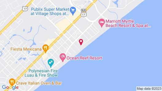 Grande Shores Ocean Resort Map