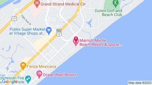 Marriott Myrtle Beach Resort & Spa at Grande Dunes Map