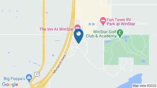 Best Western Red River Inn & Suites Map