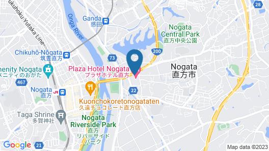 Plaza Hotel Nogata Map