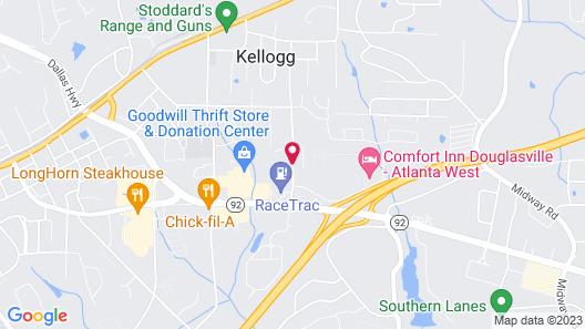 Baymont Inn and Suites Douglasville Atlanta Map