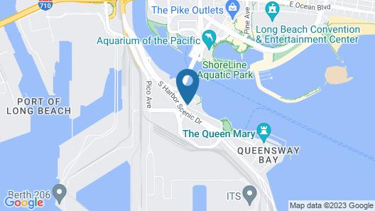 Hotel Maya - a Doubletree by Hilton Hotel Map
