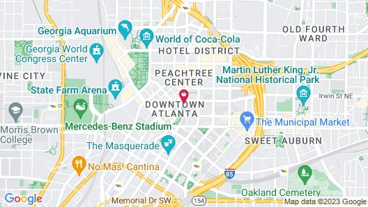 The Candler Hotel Atlanta, Curio Collection by Hilton Map