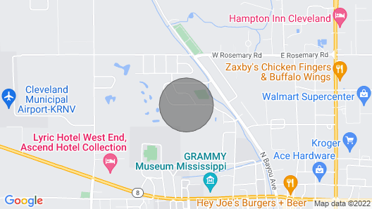 The Honnoll's High Cotton Guesthouse Map