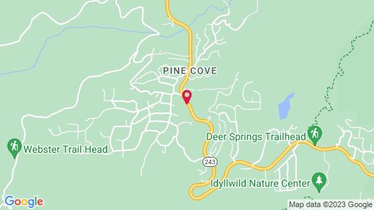 Hicksville Pines Bud & Breakfast Map
