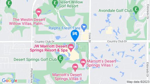 JW Marriott Desert Springs Resort & Spa Map