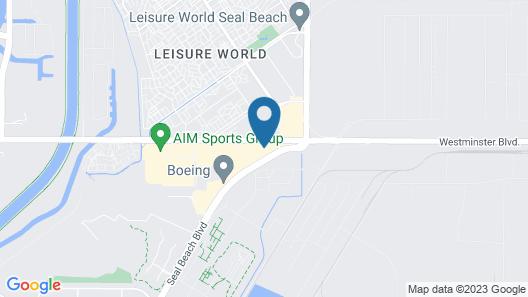 Hampton Inn & Suites Seal Beach Map