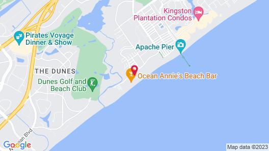 Sands Ocean Club by Elliott Beach Rentals Map