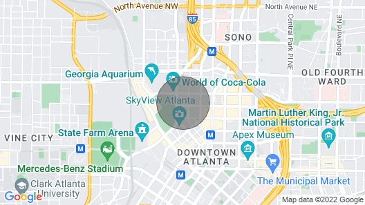 SMART HOME APT LOCATED DOWNTOWN ATL +(FREE PARKING) Map