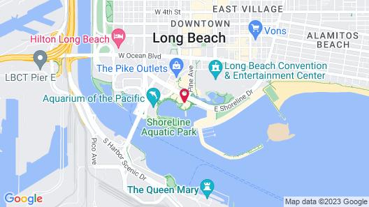 Dockside Boat & Bed Long Beach Map