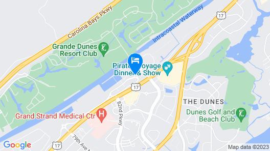 Marina Inn At Grande Dunes Map