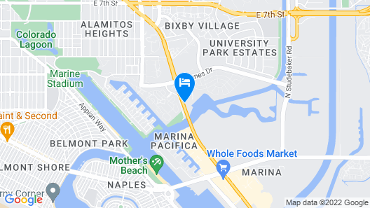 Golden Sails Hotel Map
