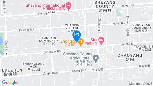 GreenTree Inn Yancheng Sheyang Xingfuhuacheng Commercial Street Hotel Map