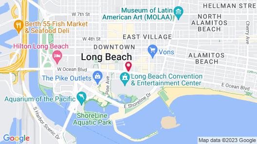 The Westin Long Beach Map