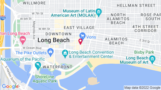 Travelodge by Wyndham Long Beach Convention Center Map