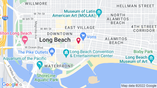 Best Western Plus Hotel At The Convention Center Map