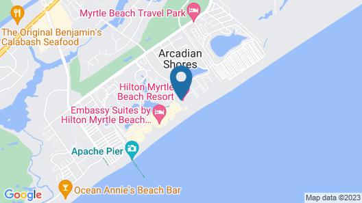 Royale Palms Condominiums Map