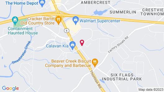 Hilton Garden Inn Atlanta West/Lithia Springs Map