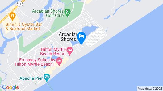 Club Wyndham SeaWatch Resort Map