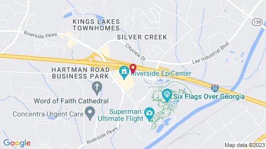 Guest Inn Austell Map