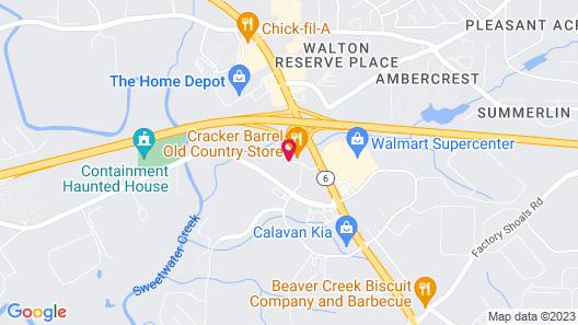 Baymont by Wyndham Lithia Springs Atlanta Map