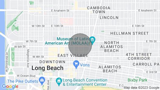 Chic Studio Sleeps 4 Wifi Free Coffee - Romi Living - Extended Stays Long Beach Map