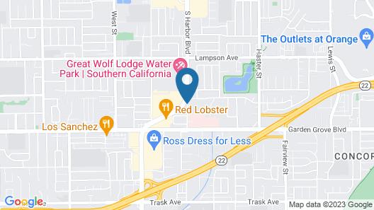 Days Inn & Suites by Wyndham Anaheim Resort Map