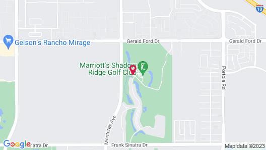 Marriott's Shadow Ridge Map
