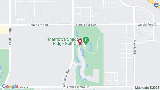 Marriott's Shadow Ridge II- The Enclaves Map
