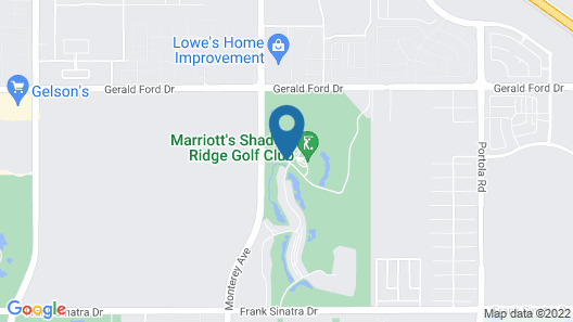 Marriott's Shadow Ridge II- The Enclaves Map