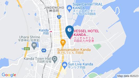 Vessel Hotel Kanda Kitakyushu Airport Map