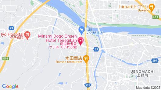Hotel Teiregikan Map
