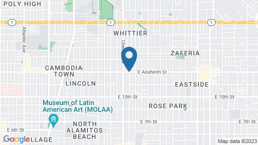 Royal Inn Motel Long Beach Map