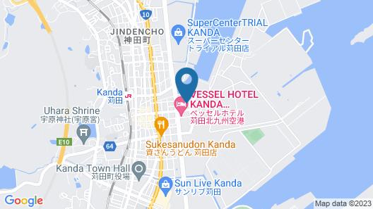 Business Hotel Sennari Map