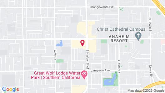 Delta Hotels by Marriott Anaheim Garden Grove Map