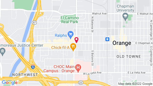 Best Western Orange Plaza Map