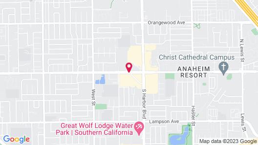 Homewood Suites by Hilton Anaheim-Main Gate Area Map