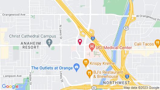 DoubleTree by Hilton Anaheim - Orange County Map