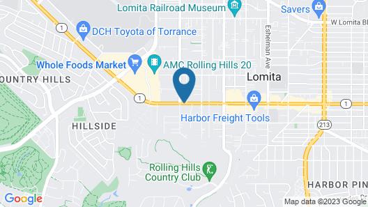 Bartlett Motel Map
