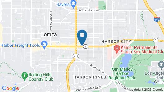 Horizon Inn Motel Map