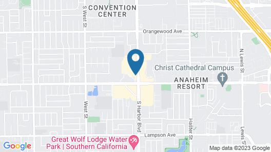 Residence Inn By Marriott Anaheim Resort Area Map