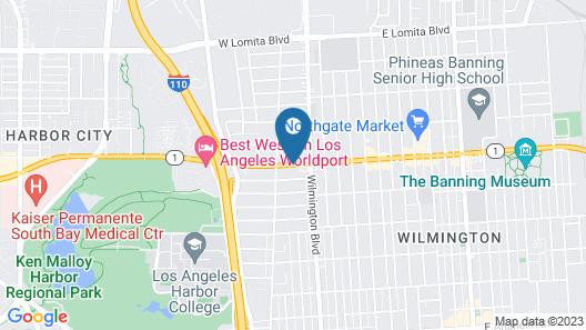 Crescent Inn Map