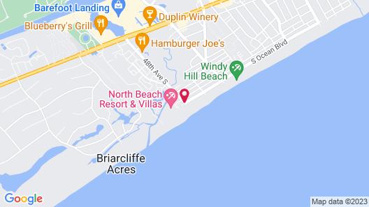 Beach Cove Resort Map