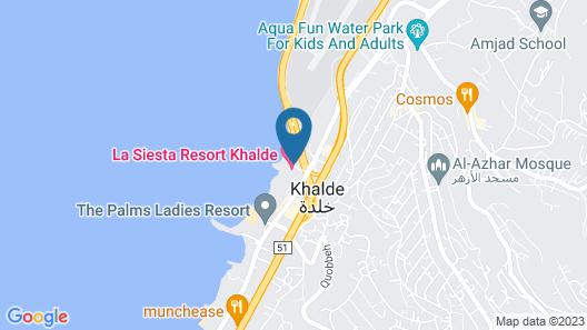 La Siesta Beach Resort Map