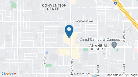 Hilton Garden Inn Anaheim Garden Grove Map
