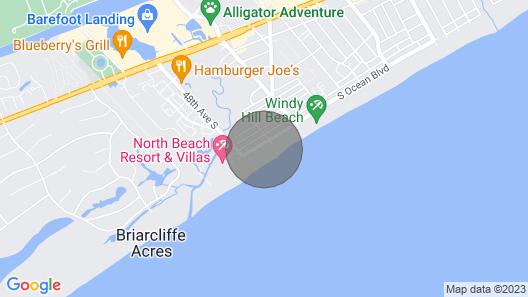 Shore Crest Vacation Villas Map