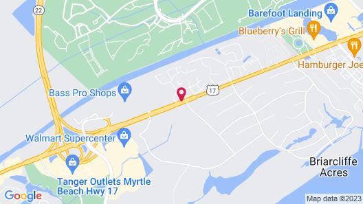 Fairfield Inn by Marriott Myrtle Beach North Map