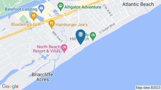 Waterpointe 1 Unit 205 3 Bedroom Condo Map