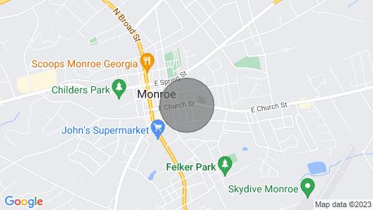 Sparrow Hill Inn Map